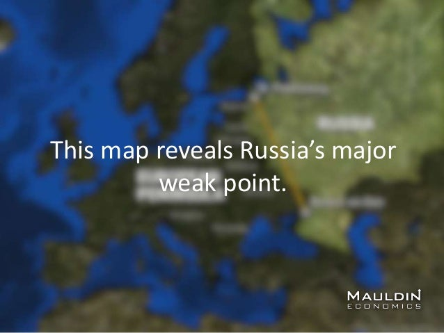 This map reveals Russia's major weak point.