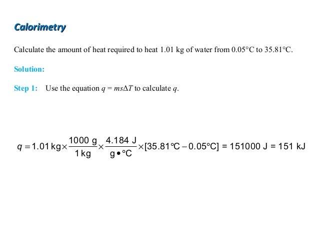 Final 1 thermochemistry