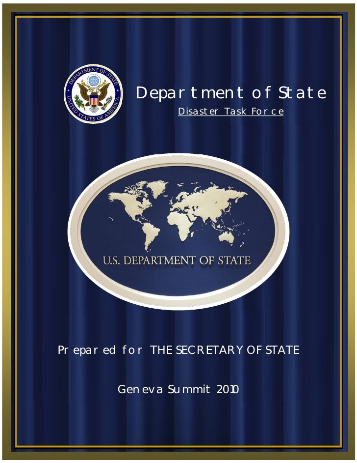 17 May 2010                                          P age |0                 Department of State                         ...