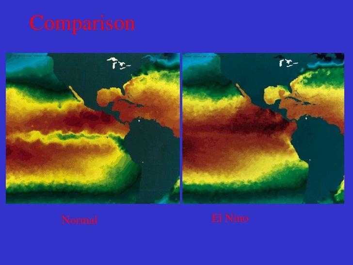 El Niño Conditions       Sea Surface Temperature