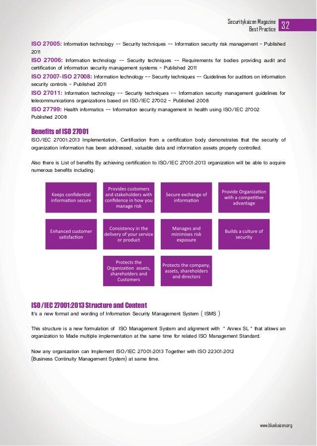 ISO/IEC 27001:2013  An Overview  Slide 3