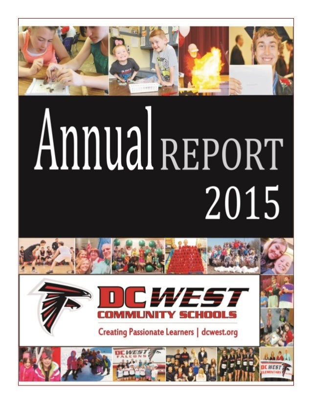 School District Annual Report Sample  Omaha Neb Public Relations Firm