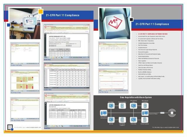 21-CFR Part 11 Compliance                                                                                                 ...