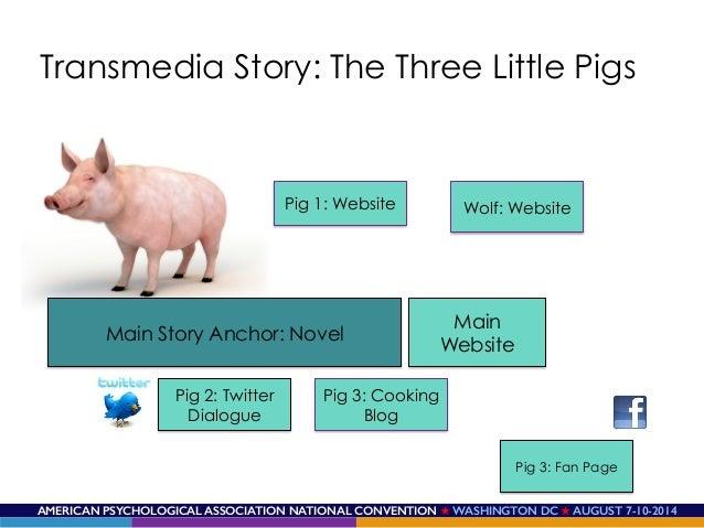 AMERICAN PSYCHOLOGICAL ASSOCIATION NATIONAL CONVENTION ★ WASHINGTON DC ★ AUGUST 7-10-2014! Main Story Anchor: Novel Pig 1:...