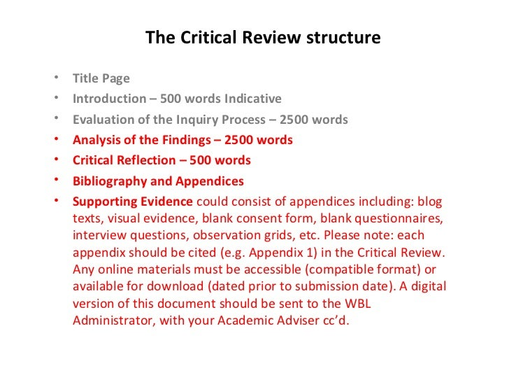 introduction to a critical analysis essay
