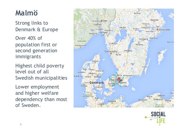 Social Life Of Cities A Placemaking Model For Malmo Sweden - Sweden map all cities