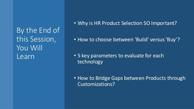 5 Key Items HR Should Consider Before Buying HR Technologies Slide 2