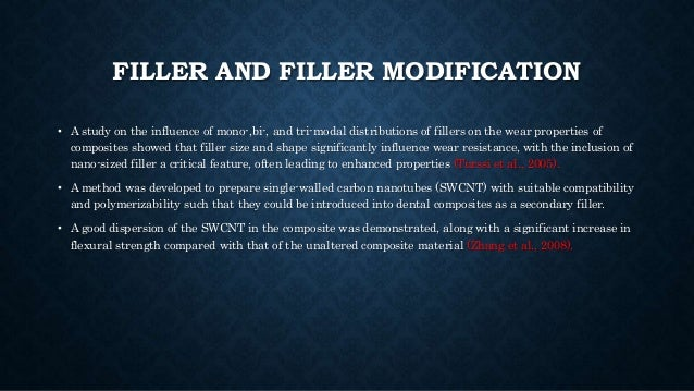 FILLER AND FILLER MODIFICATION • A study on the influence of mono-,bi-, and tri-modal distributions of fillers on the wear...