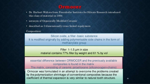 Smart nano composites • In 2007,Hockin Xu used nanosized(25-100nm)Dicalcium phosphate with reinforcing nanofillers – Load ...