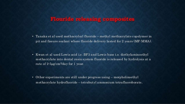 The completed self-etching, self- bonding flowable composite restorations. Application of the flowable composite into the ...