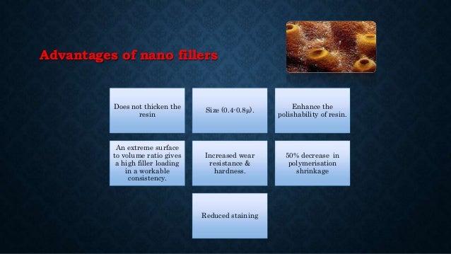 TRADE NAMES TYPE OF NANO COMPOSITES IMPORTANT POINTS Filtek™ Z350 Universal Restorative NANOHYBRID •Low polymerization shr...