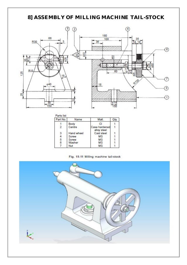 lathe machine drawing pdf - photo #25