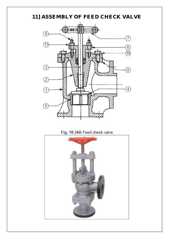 diagram of feed check valve assembly and details machine drawing pdf diagram of water check valve #1