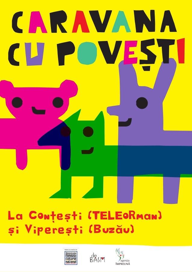 La Conțești (TELEoRman) și Viperești (Buzău)