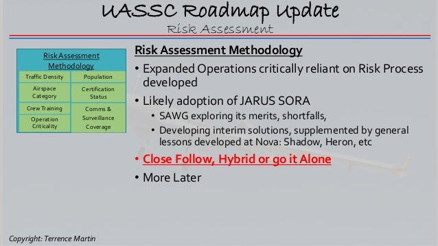 UASSC Update by Industry Co-Chair