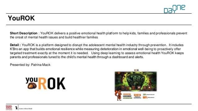 YouROK Short Description : YouROK delivers a positive emotional health platform to help kids, families and professionals p...