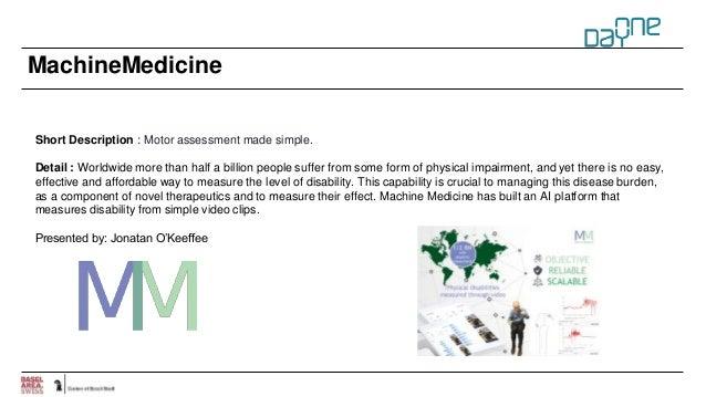 MachineMedicine Short Description : Motor assessment made simple. Detail : Worldwide more than half a billion people suffe...