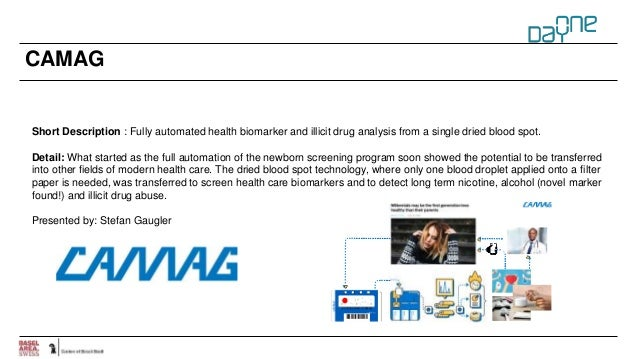 CAMAG Short Description : Fully automated health biomarker and illicit drug analysis from a single dried blood spot. Detai...