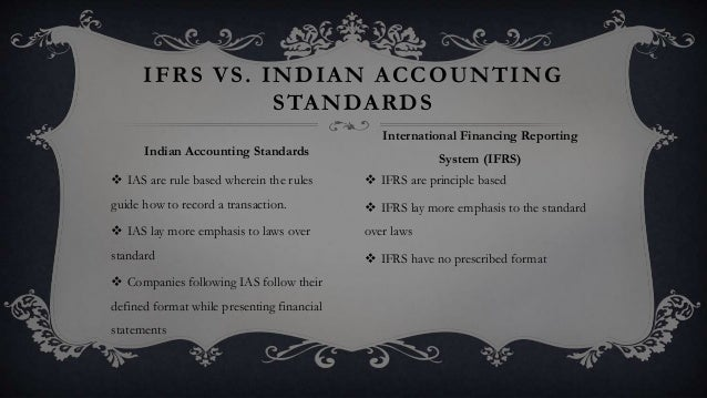 ifrs conversion template - final accounting standards