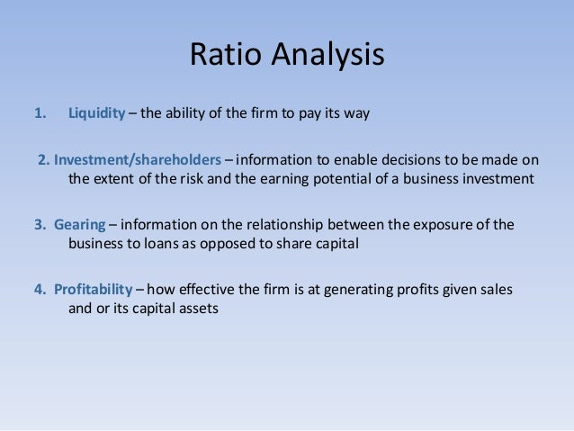 inadequacies of accounting ratios as tools of financial analysis essay Financial analysis and the changing role of credit professionals  the dupont  ratio is a useful tool in providing both an overview and a focus for such analysis   the company appears to have a significant weaknesses in profitability, while.