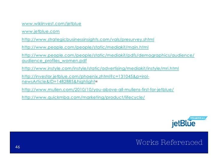 jetblue swot Jet blue- swot analysis, pest analysis, porter's five force  jetblue airlines [ success story] october 1, 2009 efforts by:- meenakshi bisht.