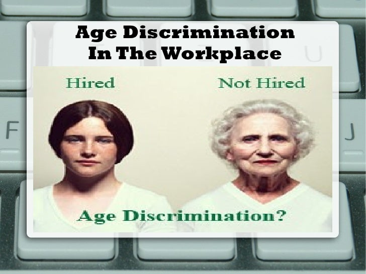 discrimination at work examples