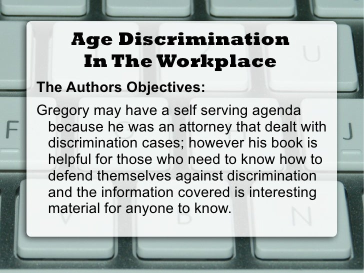 Discrimination and young people essay