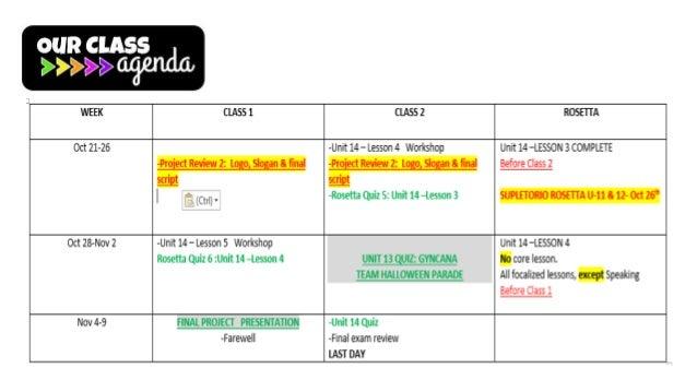Final agenda 2 a oct 21