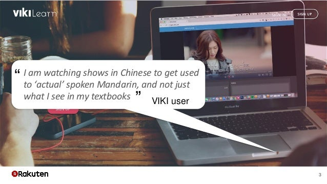 """3 I am watching shows in Chinese to get used to 'actual' spoken Mandarin, and not just what I see in my textbooks """" """" VIKI..."""