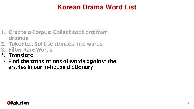 51 Korean Drama Word List
