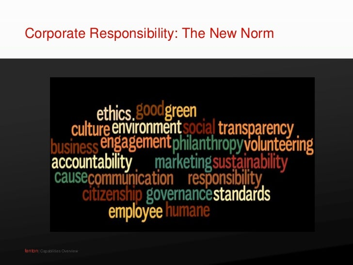 Demystifying Corporate Responsibility Slide 2