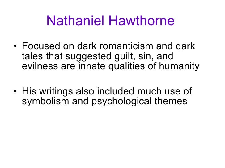 """an analysis of the symbolism used in nathaniel hawthornes the house of seven gables House of seven gable"""" quite vividly, he pictured individualistic moral vices as the   even more new historical analyses of hawthorne and his writing in  for  nathaniel hawthorne,  this flower might be a symbol of the """"sweet moral  blossom."""
