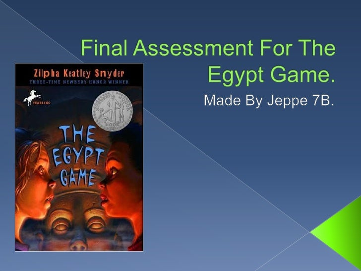 Final Assessment For The Egypt Game.<br />Made By Jeppe 7B.<br />