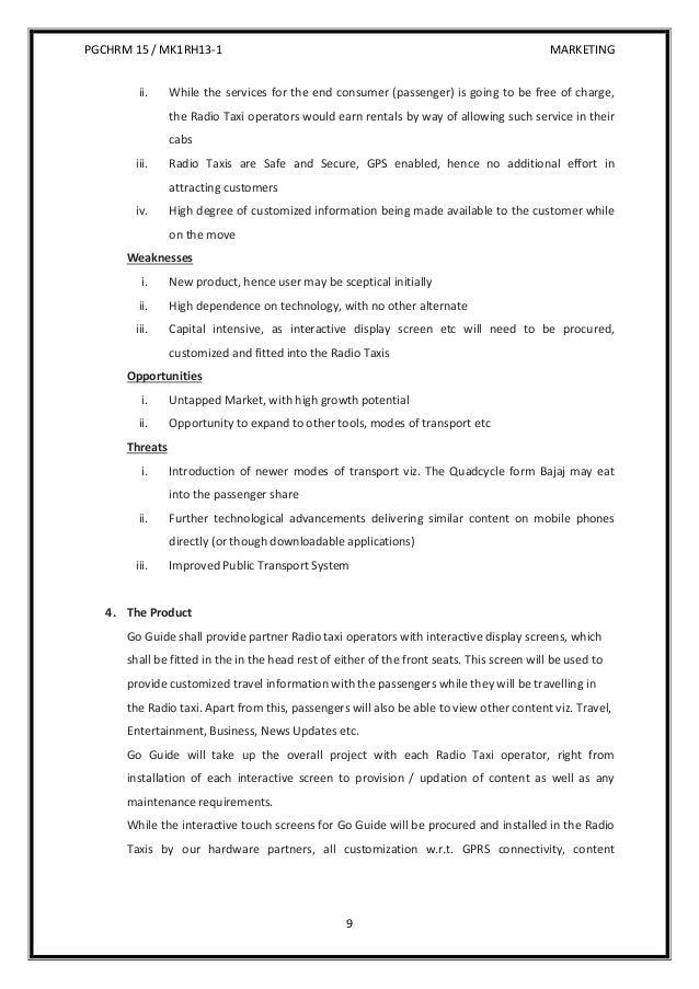 radio station business plan doc