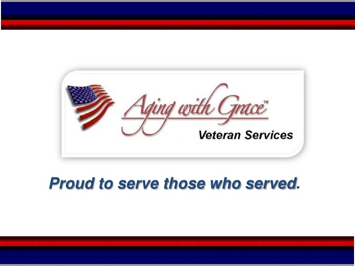 Proudto serve those who served.<br />