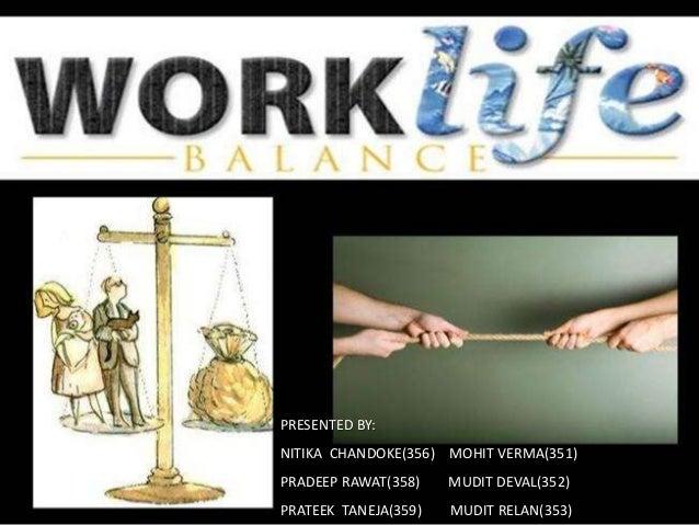 Worklife balance essay