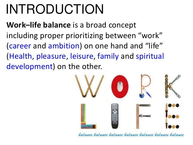 Work life balance dissertation questions