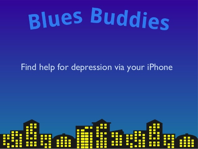 Find help for depression via your iPhone