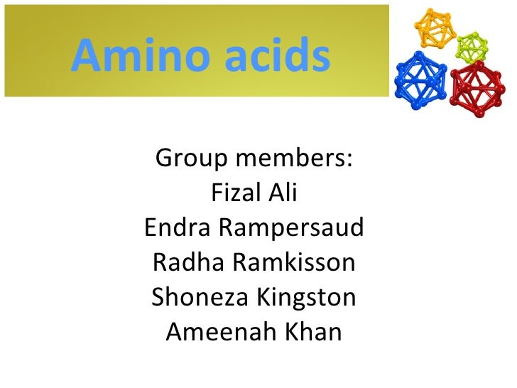 Chemical Properties Of Amino Acids Ppt
