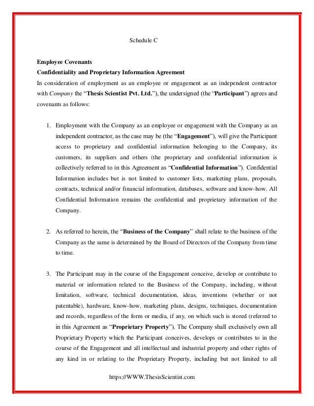 Sample Company Bond Agreement
