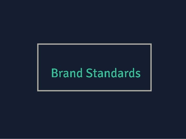 This brand standards document explores the message, visuals, and expression of… 1. Brand Message 2. Design & Visuals 3. Wo...
