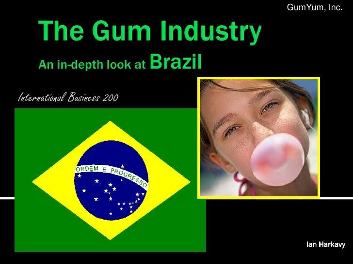 GumYum, Inc.International Business 200                                 Ian Harkavy