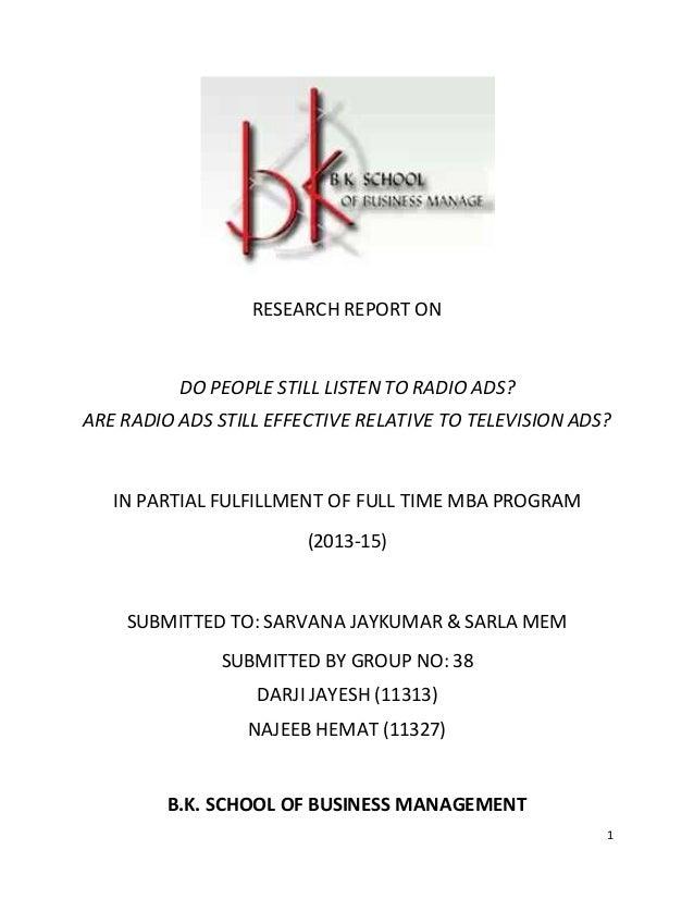 impact of radio advertising on consumer buying behaviour