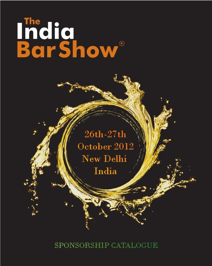 TheIndiaBar Show           R