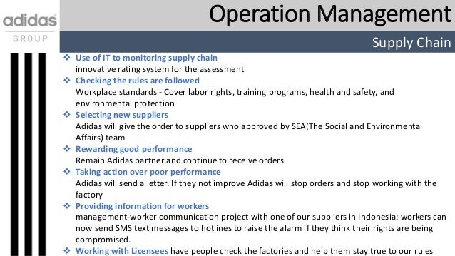 adidas strategic business plan