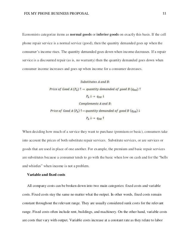 basic business proposal template