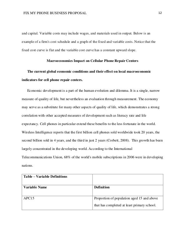 Business Proposal Template Sample Leoncapers