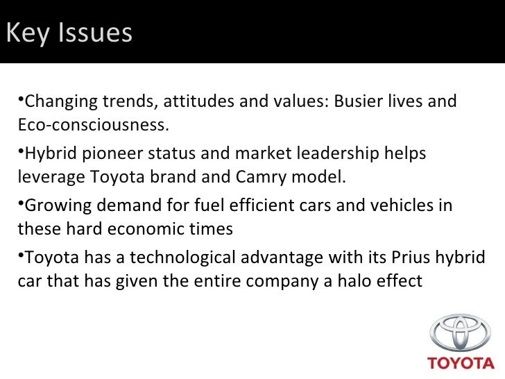 Final draft camry final presentation for Motor trend on demand problems