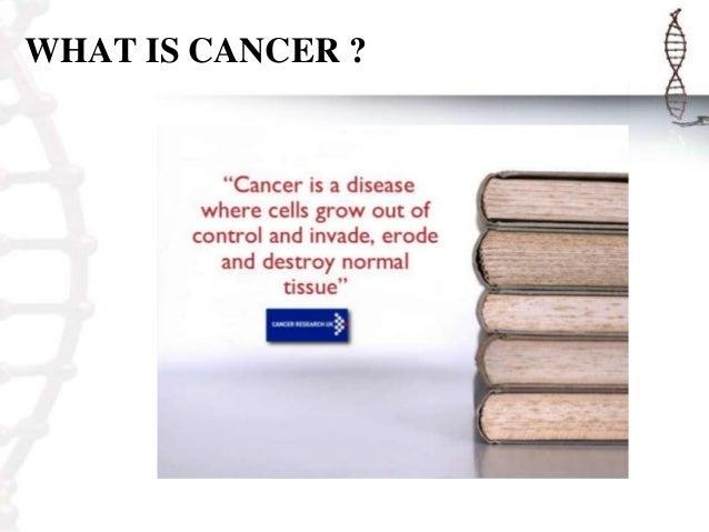 Final cancer presentation Slide 2