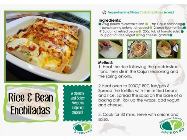 Evaluation of our recipe cards-